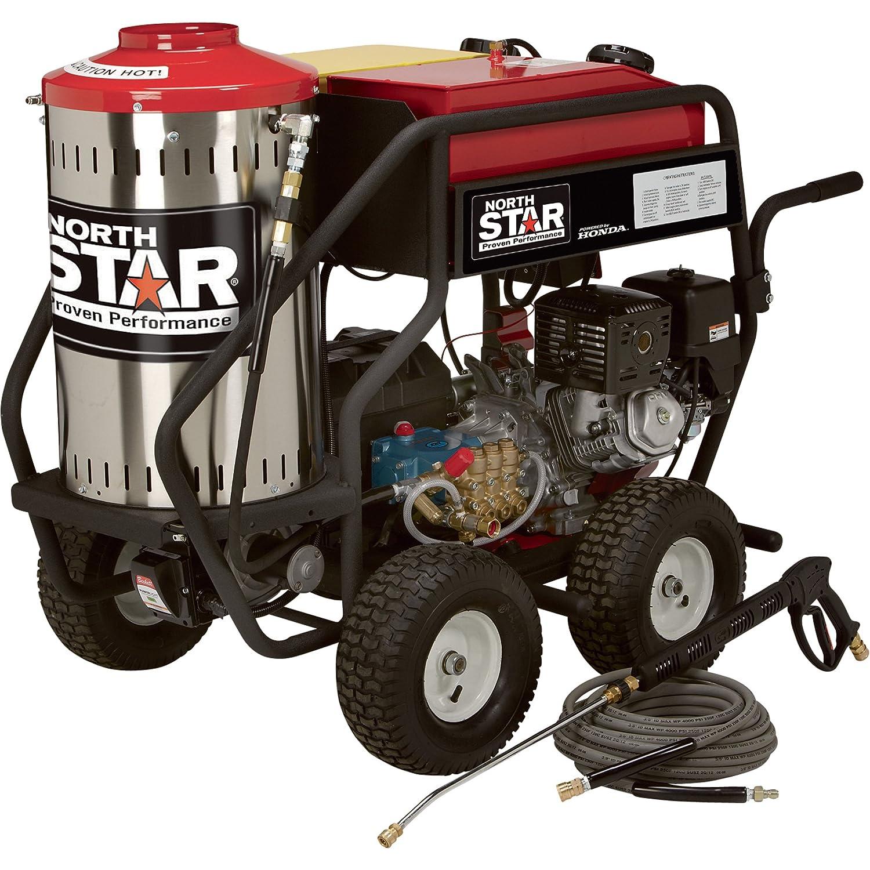 Amazon.com : NorthStar Gas Powered Wet Steam & Hot Water Pressure Washer -  3, 000 PSI, 4.0 GPM, Honda Engine : Garden & Outdoor