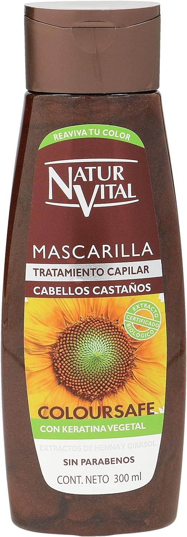 Naturaleza y Vida Mascarilla Coloursafe Castaño - 300 ml