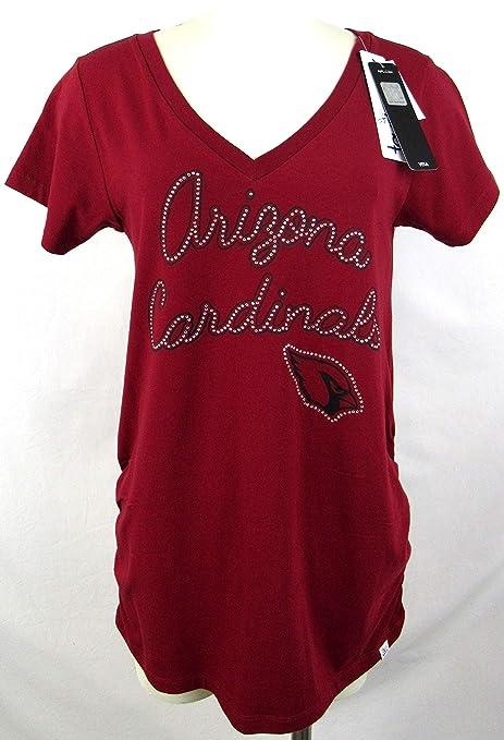 ee6ed162 Amazon.com : Womens Touch Arizona Cardinals Rhinestone Bling Logo ...