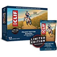 CLIF BARS - Energy Bars - Peanut Butter Banana with Dark Chocolate - Made with Organic Oats - Plant Based Food…