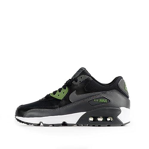 Nike Jungen Air Max 90 Mesh GS Fitnessschuhe, Schwarz, 0 EU