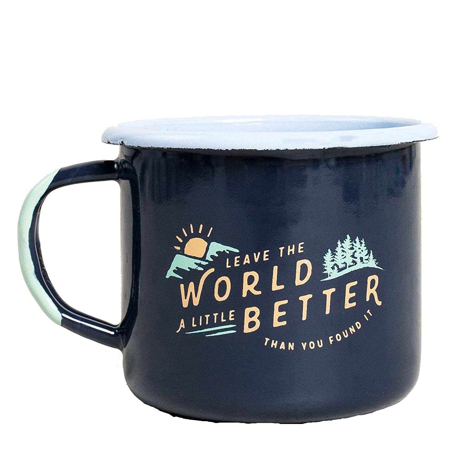 United by Blue Found Enamel Mug B079T4BQVQ  ネイビー One Size