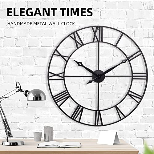 Infinity Time Co Large Wall Clock