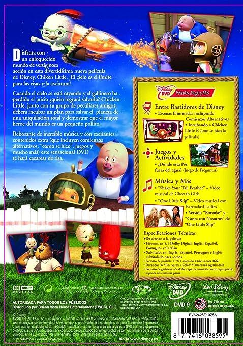 Amazon.com: Chicken Little (Import Movie) (European Format - Zone 2) (2006) Zach Braff; Garry Marshall; Joan Cusack; St: Movies & TV