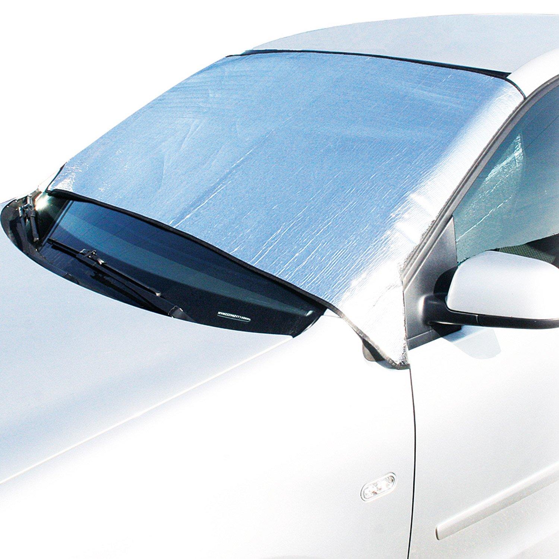 Cartrend 70100 Cubierta de parabrisas de aluminio, para verano e ...