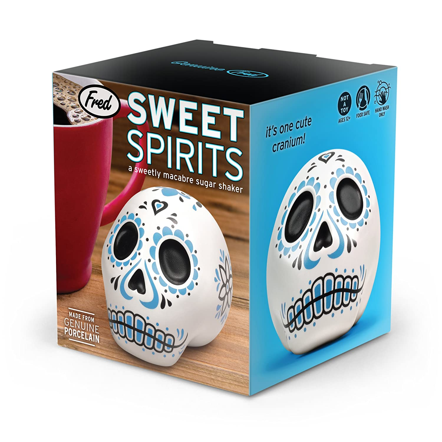 Amazon.com: Fred SWEET SPIRITS Day of the Dead Sugar Shaker: Sugar ...