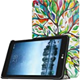 MoKo Sprint LG G Pad F2 8.0 Case (Not Support Extra Battery Plus Pack) - Ultra Lightweight Smart Shell Stand Case Cover for LG GPad F2 8.0 Sprint Model LK460 8-Inch Tablet 2017 Release - Lucky Tree