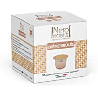 Cápsulas de Achocolatado Crème Brulée Neronobile, Compatível com Nespresso, Contém 10 Cápsulas