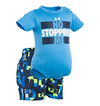 cf1008e14a Amazon.com  Under Armour UA No Stopping Me Set — Infant  Clothing