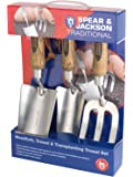 Spear & Jackson TRAD3PS Traditional Stainless Steel Set, Multi-Colour