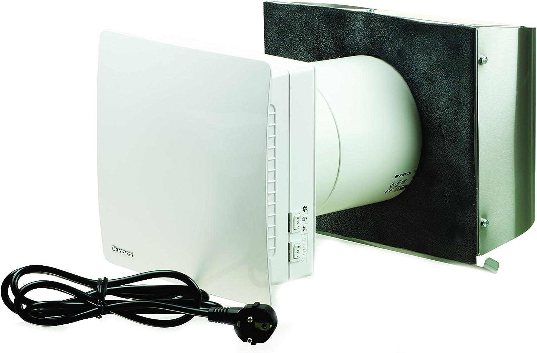 VENTS-US Twinfresh RA1-50-2 Single Room Energy Recovery Ventilator