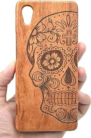 PhantomSky Sony Xperia XA1 Funda de Madera, [Serie Natural Hecha a Mano de Bambú/Madera Carcasa Case Cover para tu Smartphone: Amazon.es: Electrónica