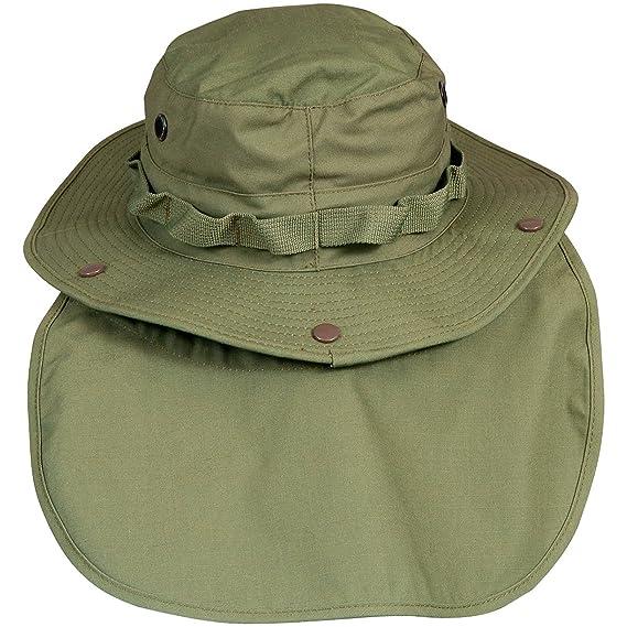 8d6761950b8 Amazon.com  Helikon-Tex GI Boonie Hat Olive  Clothing