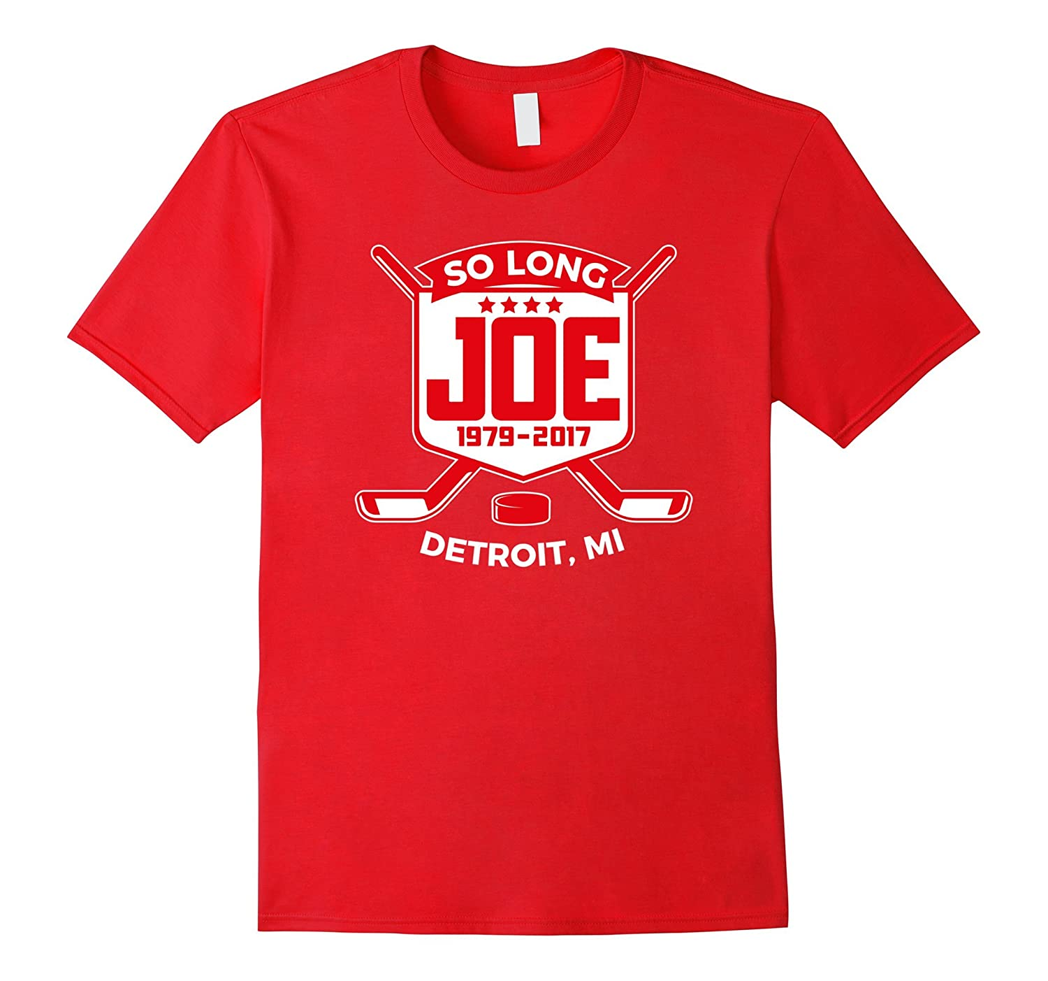 Detroit Hockey So Long Joe T-Shirt-TH