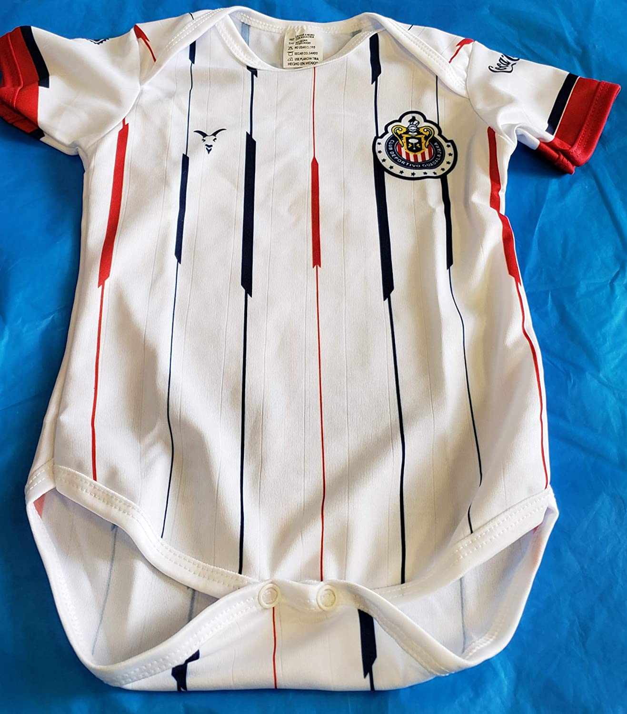スポーツ ニュー!2018 Chivas de Guadalajara Generic 幼児 幼児 サイズ L(9-14か月)   B07J3T22FW