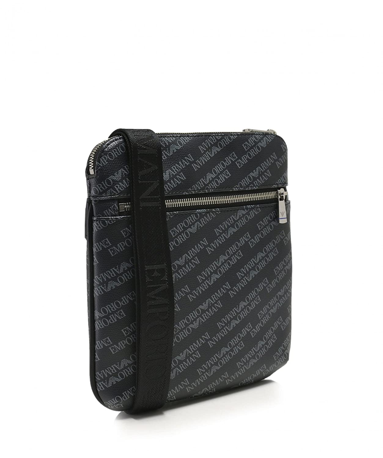 EMPORIO ARMANI Logo Print Pouch Black One Size  Armani  Amazon.co.uk   Clothing 45b117d5d1558