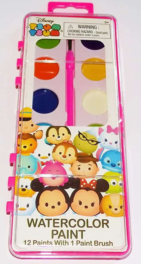 Amazon.com: Disney Tsum Tsum Watercolor Paints: Toys & Games