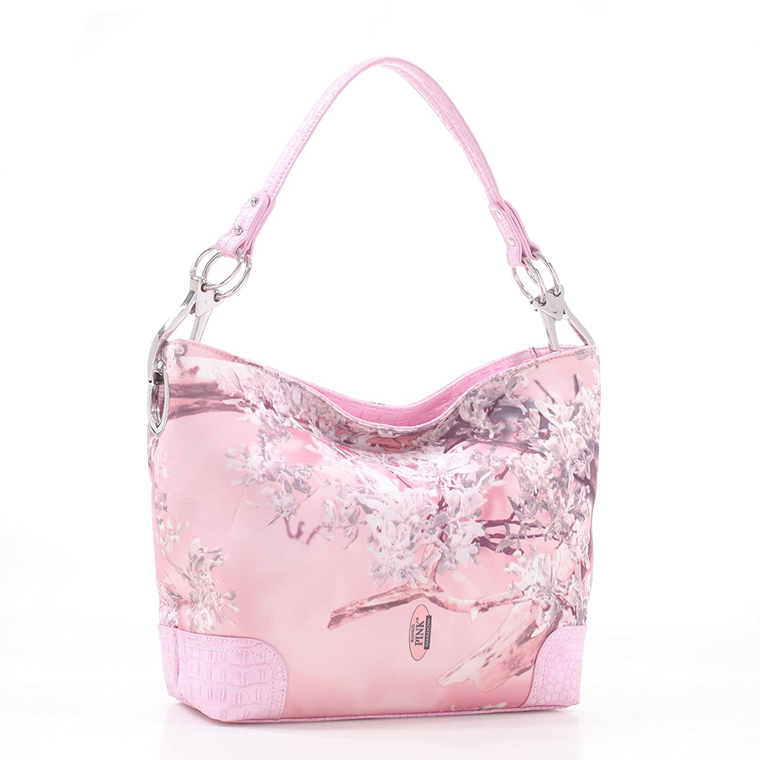 King's Camo Pink Shadow Camouflage Purse Skylar Classic Hobo (Pink / Pink)