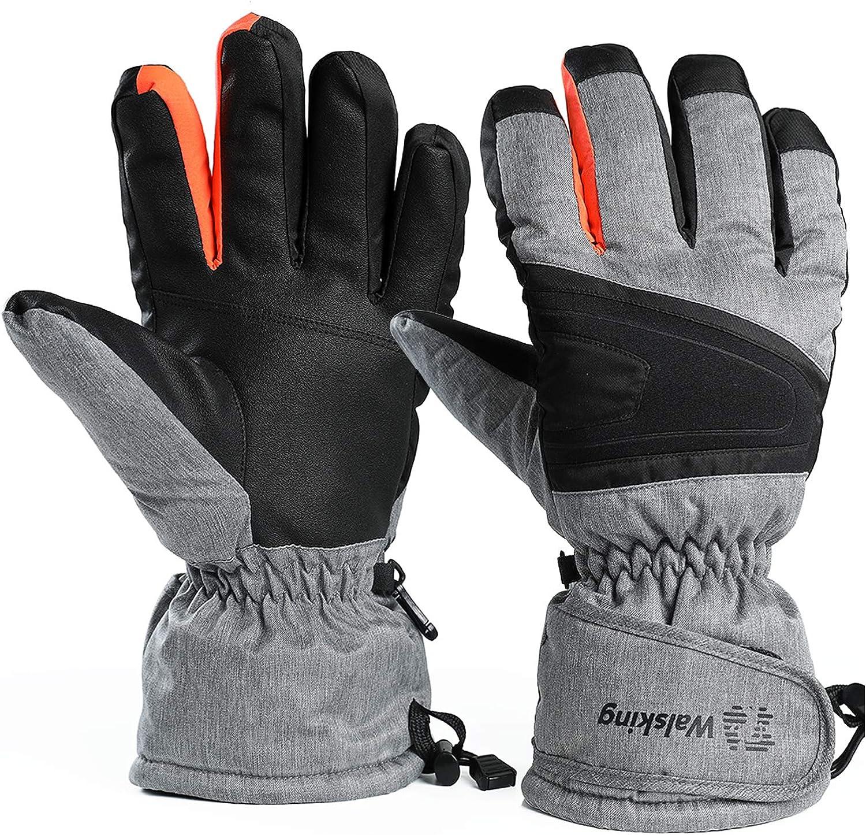 Winter Warm Gloves for Men /&Women Ski/&Snow Gloves Waterproof /&Windproof Snowboard Gloves,3M Thinsulate Cold Weather Gloves