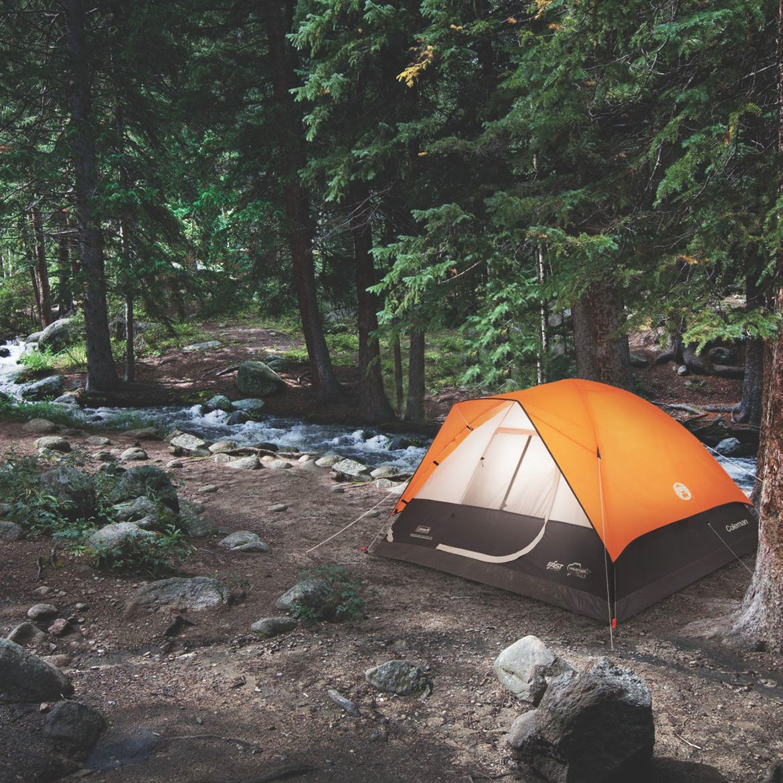 Coleman Moraine公園高速ピッチ4-personドームテント、オレンジ、ポリエステル   B00TFZ21CQ