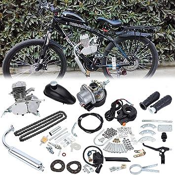 Sange Kit de conversión del motor de gasolina y gasolina del ciclo del pedal de 2