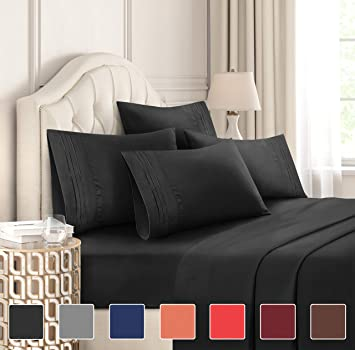 LOT OF 12 SETS 2000 SERIES,DEEP POCKET,4 PIECES BED SHEET SET,15 COLORS,SOLID