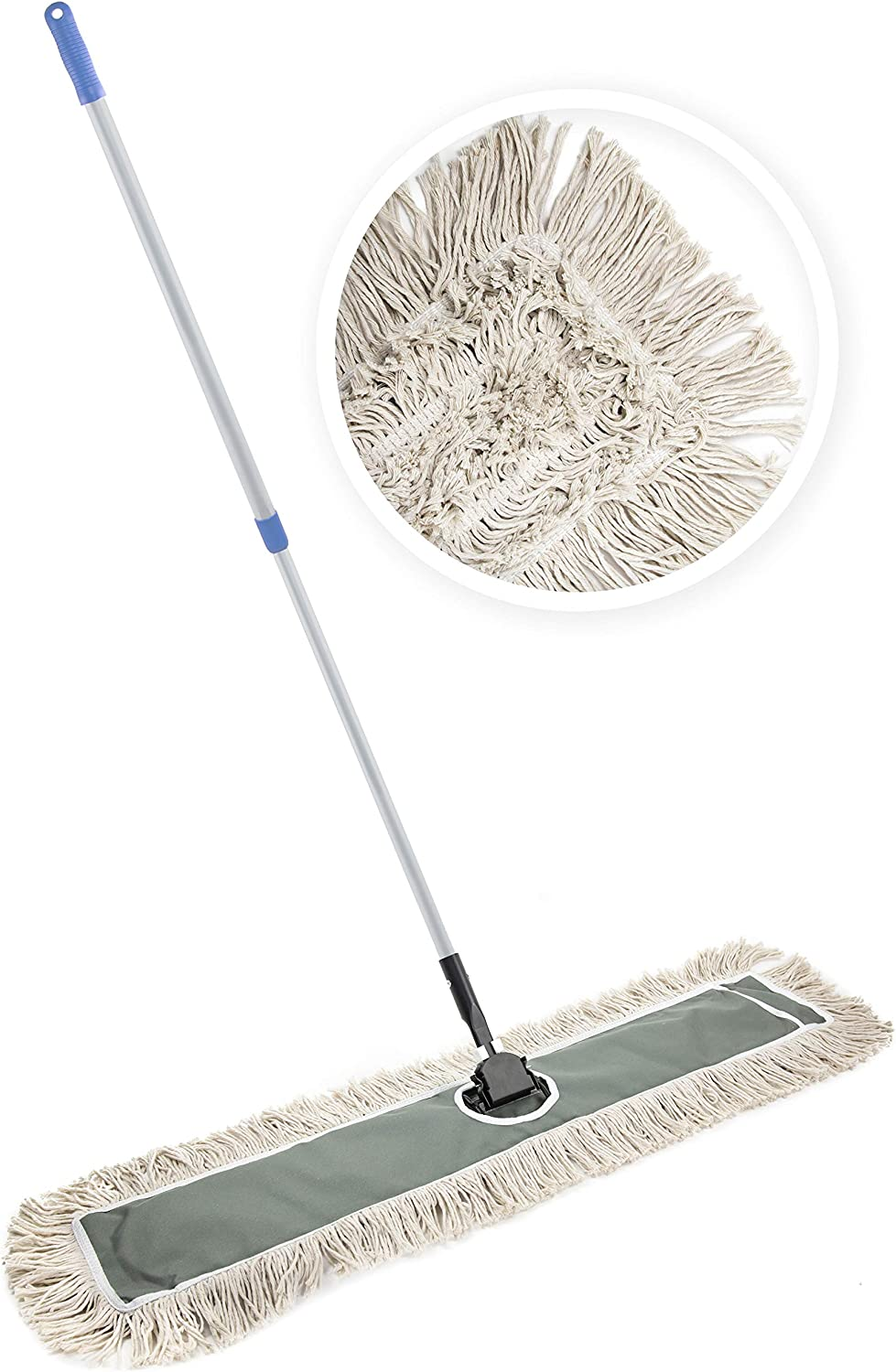 Jinclean 36 Industrial Class Cotton Floor Dust Mop Dry To Attract Dirt Dust Laminated Hardwood Floor Garage Epoxy Tile Bamboo Telescopic Pole Height Max 59 36 Industrial Mop Health Personal Care Amazon Com