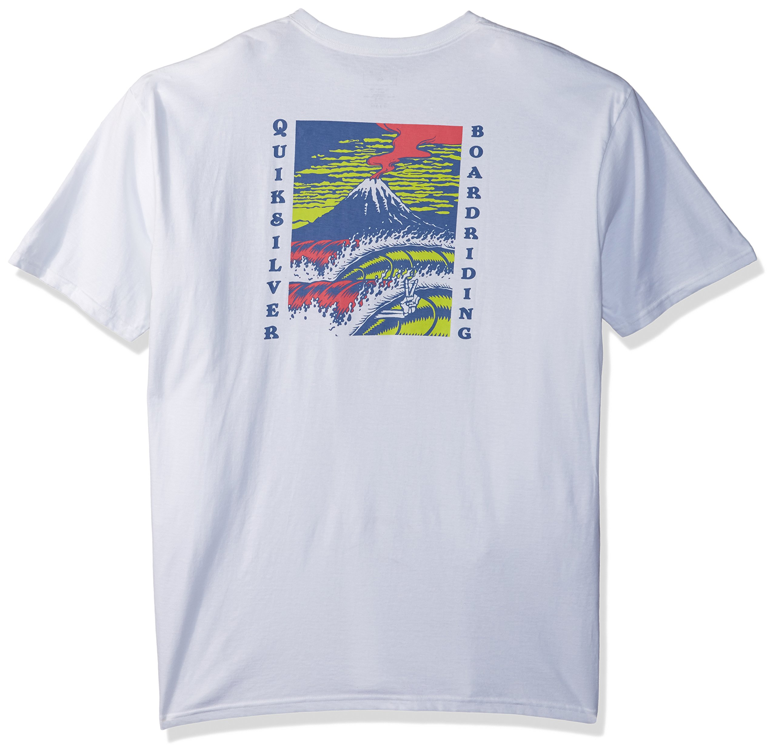 Quiksilver Men's Tropic Eruption Tee Shirt, White, XL by Quiksilver (Image #2)