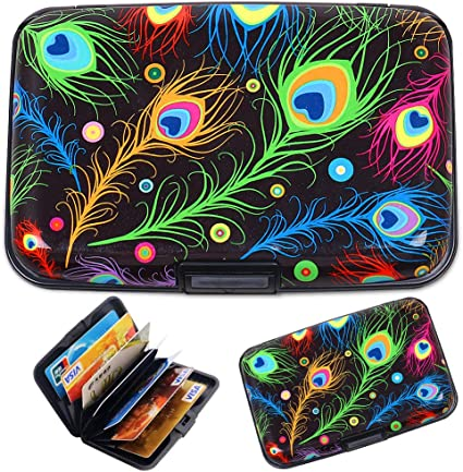 Metal Wallet RFID Blocking Identity Protection Card Holder Case 3 colour choice!