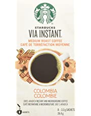 Starbucks VIA Instant Colombia (Pack of 12), Colombia, 96 Count