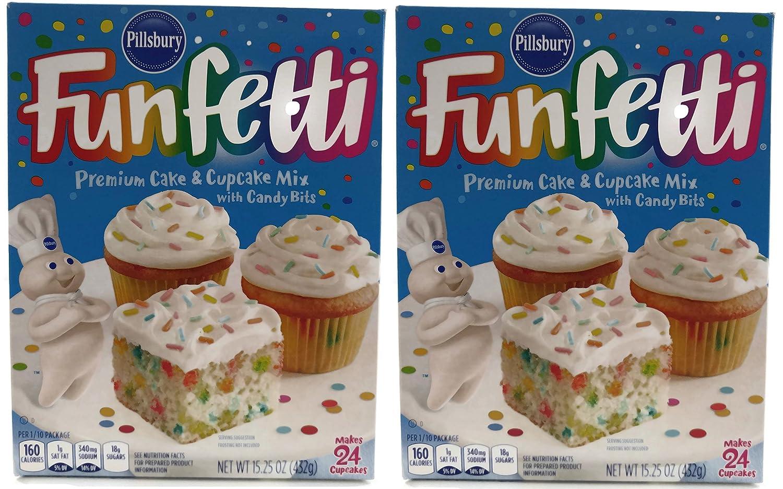 Pillsbury Funfetti Cake Mix 15 25 Oz 2 Pk