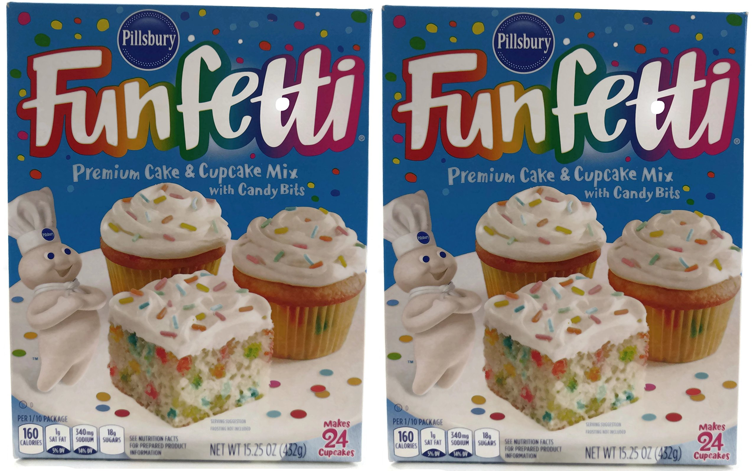 Pillsbury Funfetti Cake Mix - 15.25 oz - 2 pk