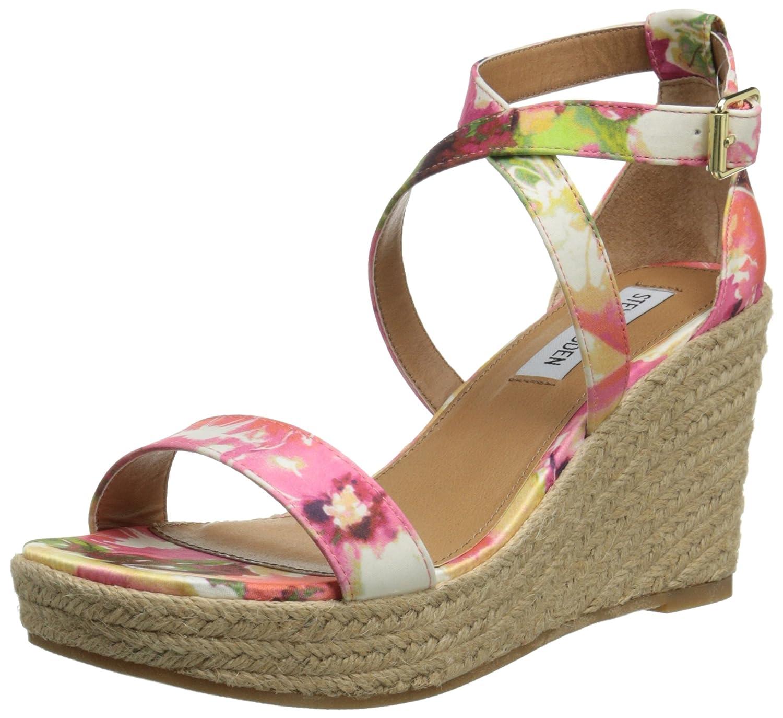 Steve Madden Women's Montaukk Espadrille Sandal B00OSS19BY 8.5 B(M) US|Floral