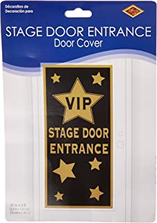 VIP Stage Door Entrance Door Cover Party Accessory (1 Count) (1/Pkg