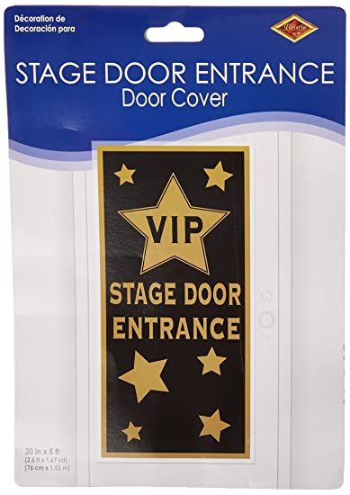 VIP Stage Door Entrance Door Cover Party Accessory (1 count) (1/Pkg  sc 1 st  Amazon.com & Amazon.com: VIP Stage Door Entrance Door Cover Party Accessory (1 ...