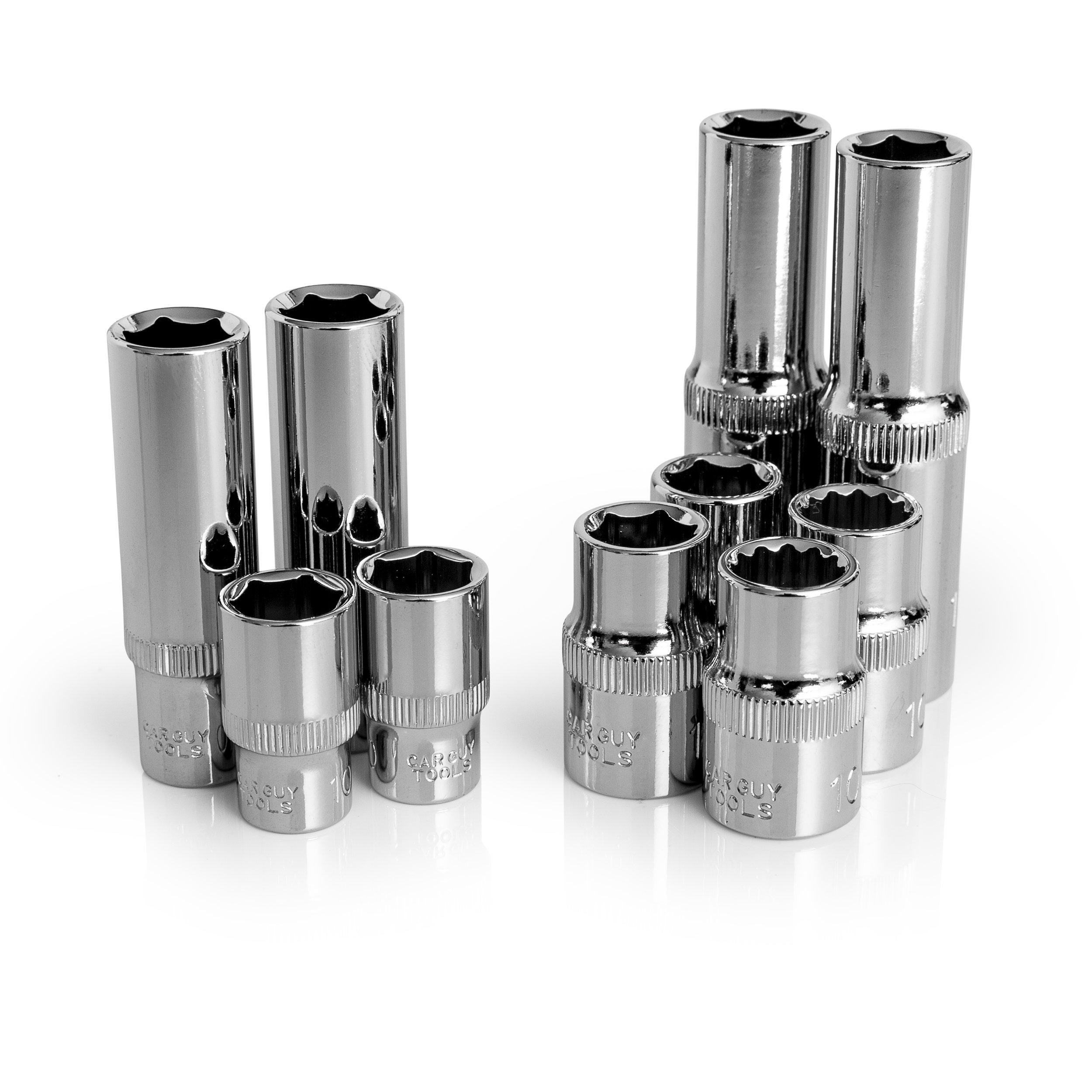 10mm Socket Ten Pack (Multi-Type)