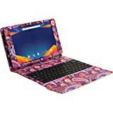 """Visual Land Prestige PRIME 10ES - 10.1"""" OCTA-Core Android 5.1 Lollipop Tablet with Keyboard Case, 16GB, IPS 1280x800 HD Touch screen (Magenta)"""