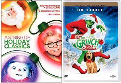 dr seuss how the grinch stole christmas a christmas story dvd a year