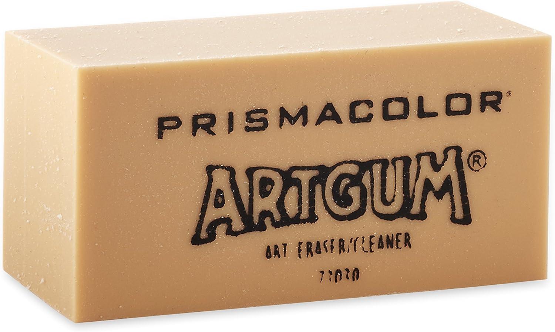 B0006ZELR2 Prismacolor 73030 Design ArtGum Erasers, Beige, 12-Count 81bOV2Y1MYL