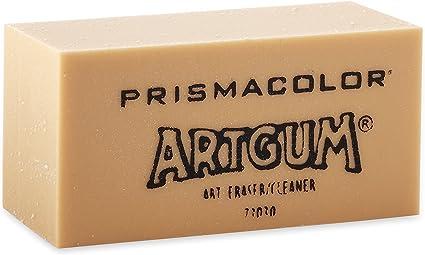 Sanford Prismacolor Artgum Dry Cleaning Eraser 73030 Graphite Pencil 1 PC