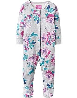 b20aadd7802337 Joules Baby Infant Girls Razamataz Navy Magical Unicorns Sleepsuit ...