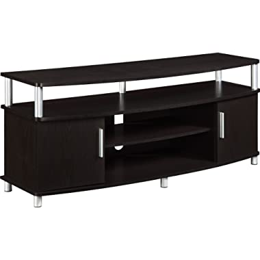 Ameriwood Home Carson TV Stand for TVs up to 50  Wide (Espresso)