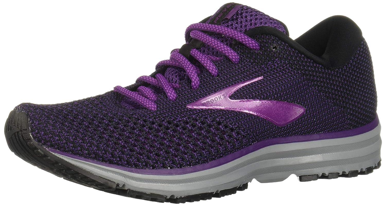 Noir violet gris Brooks Revel 2, Chaussures de Running Femme 39 EU