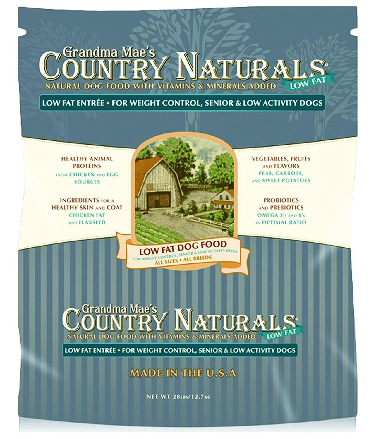 Grandma Mae'S 79700134 28 Lb Country Naturals Low Fat, One Size
