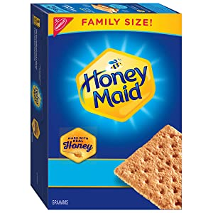 Honey Maid Honey Graham Crackers, Family Size, 25.6 oz