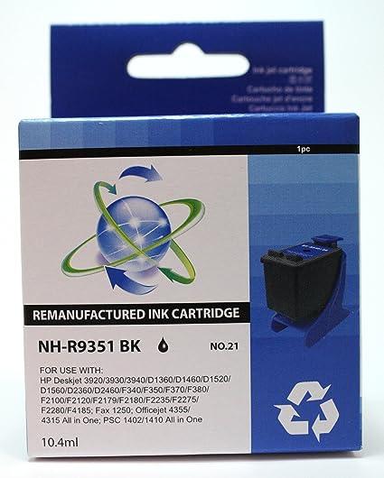G&G XL Blækpatron HP No.21 cartucho de tinta Negro ...