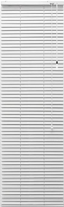 Gut Alu-Jalousie - Farbe: weiss - 50 x 130 cm (Breite x Höhe  YV97