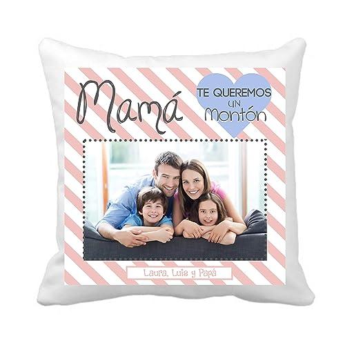 Cojin Mamá/Personalizado con Foto/Regalo Original/Tamaño ...