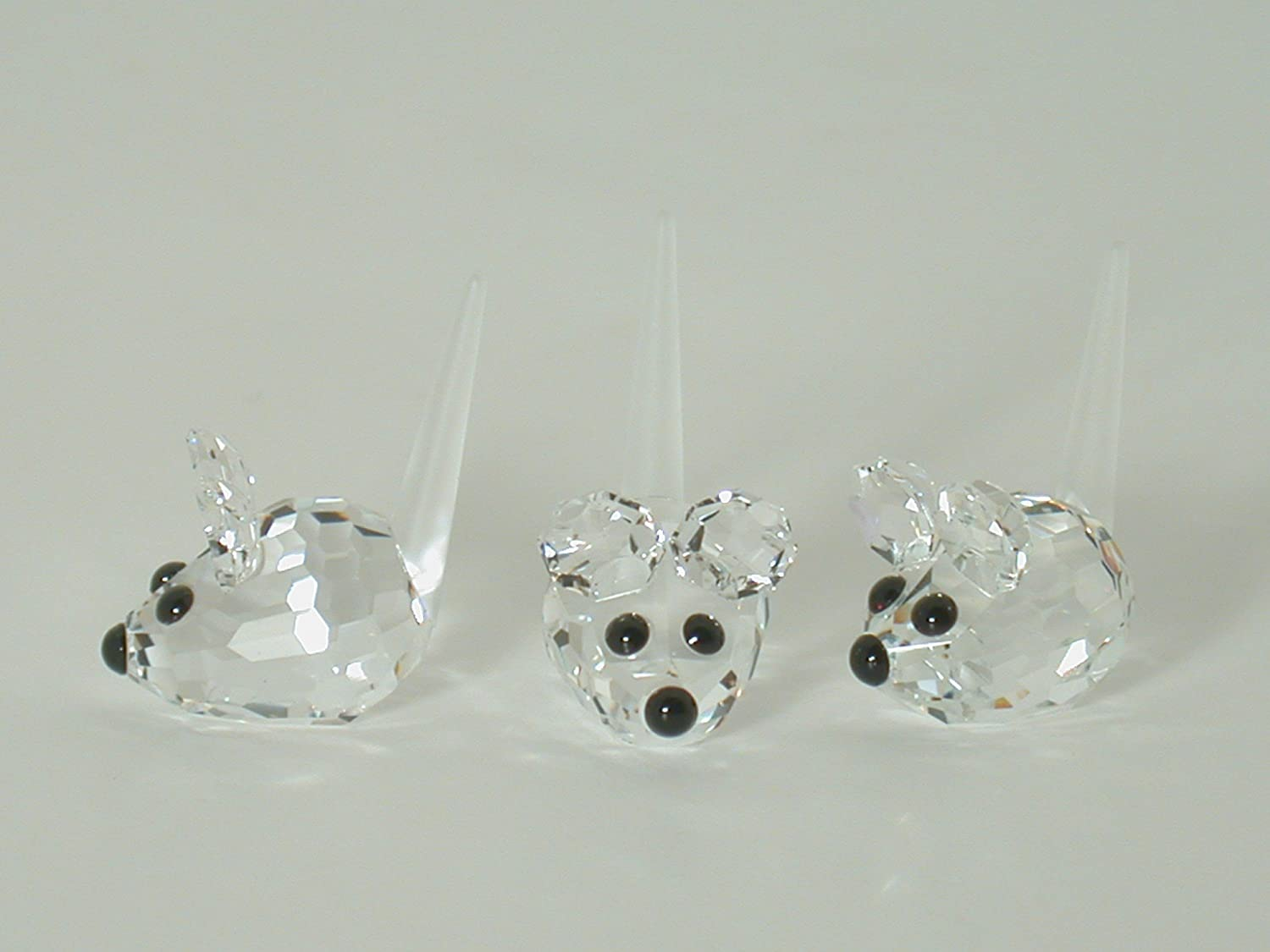 Amazon.com  Authentic Swarovski Crystal Figurine  Set of 3 Field Mice -  Collectible No.181513 (Retired) Made in Austria  Home   Kitchen 0151c7eb34