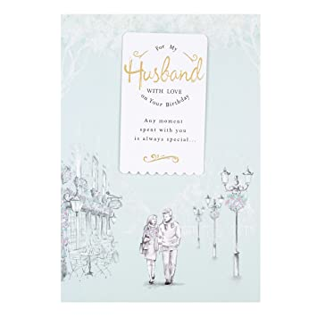 Hallmark Husband Birthday CardquotSharing My Lifequot